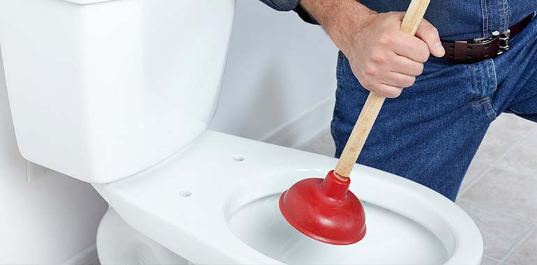 clogged toilet repair services