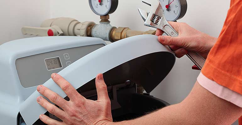 water softener repair and installation services